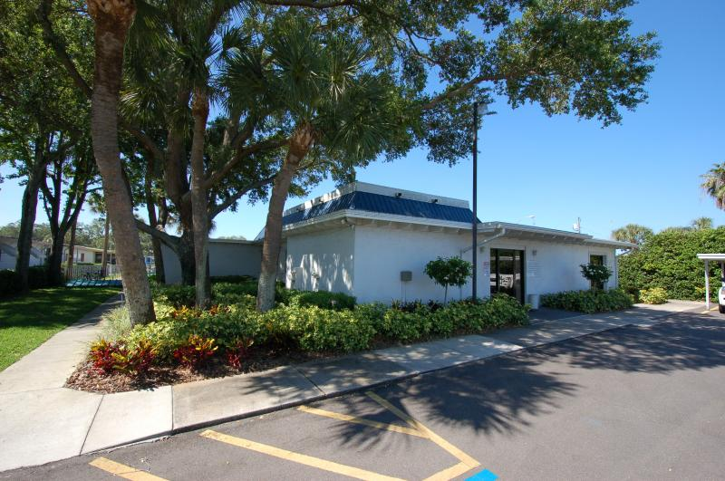 Teaky Club house in 55 plus park located in pinellas county florida
