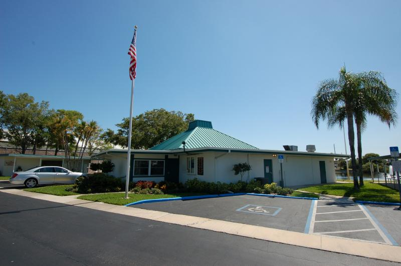 West Club House. 5 star family owned mobile home park in pinellas county